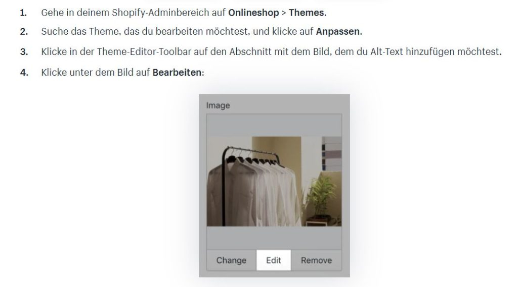 Alt Tags in Shopify