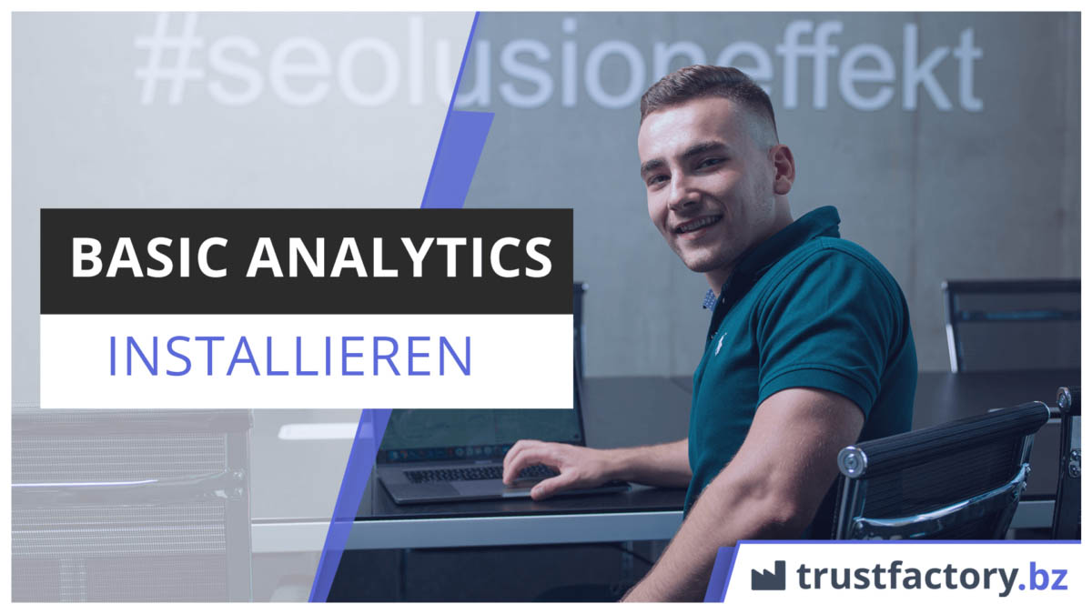 Basic Analytics Tracking installieren Titelbild