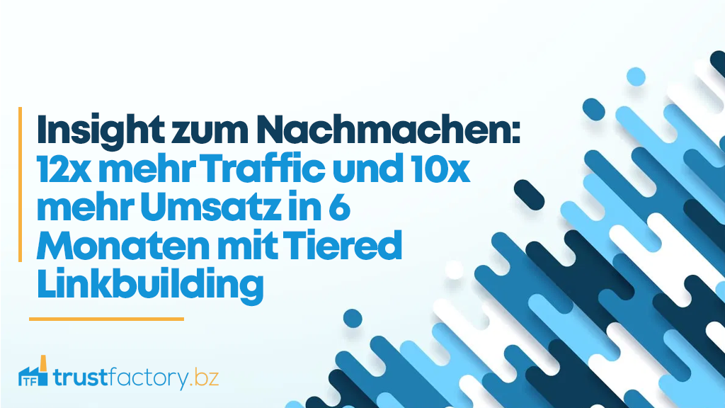 12x mehr Traffic Case Study Titelbild