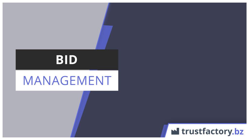 Bid Management