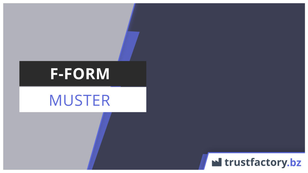 F-Form Muster