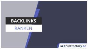 backlinks ranken