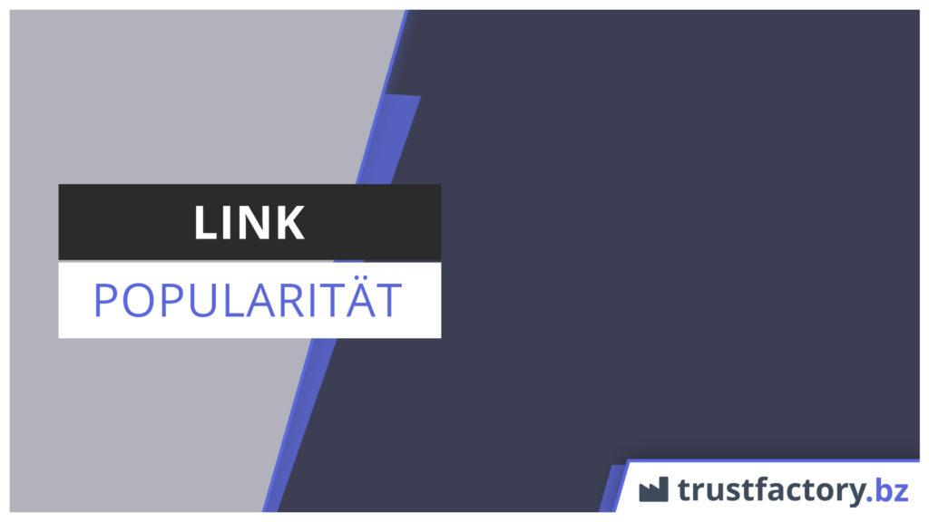 link popularität