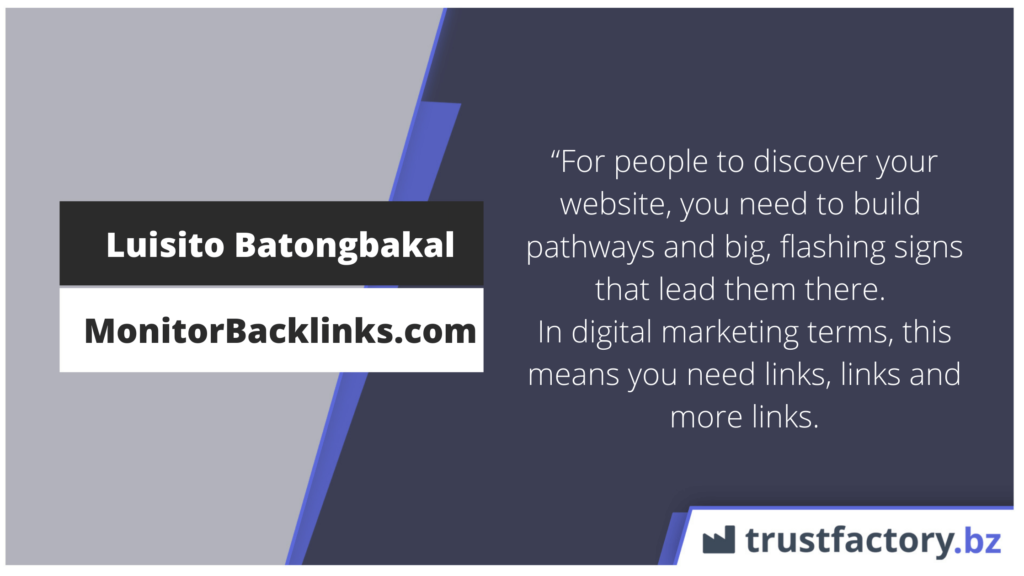 Weshalb Backlinks nötig sind