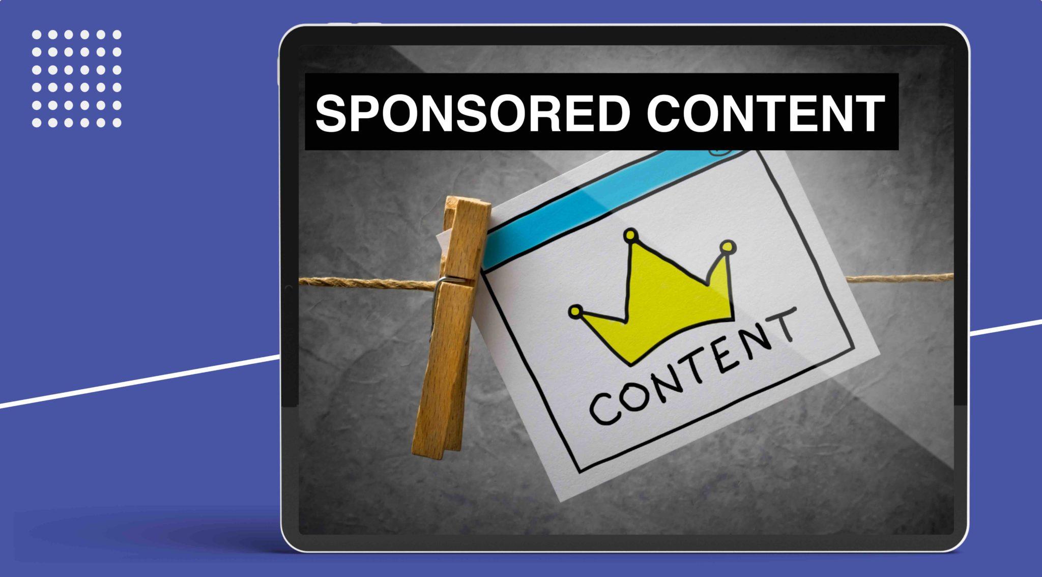 Case Study Sponsored Content